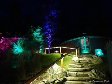 Spa Bolton de nuit - Cantons de l'Est - Canada