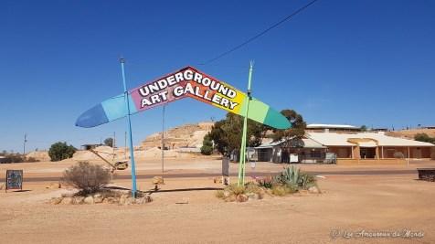 Underground art gallery - Coober Pedy