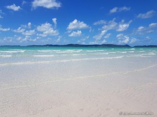 plage Whitsundays - Australie