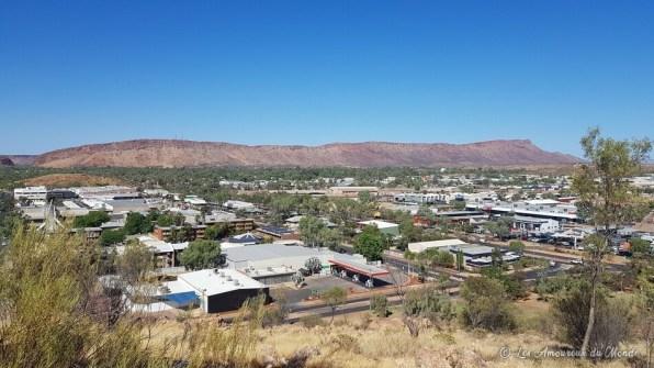 vue depuis le point de vue de AnzacHill Alice Springs