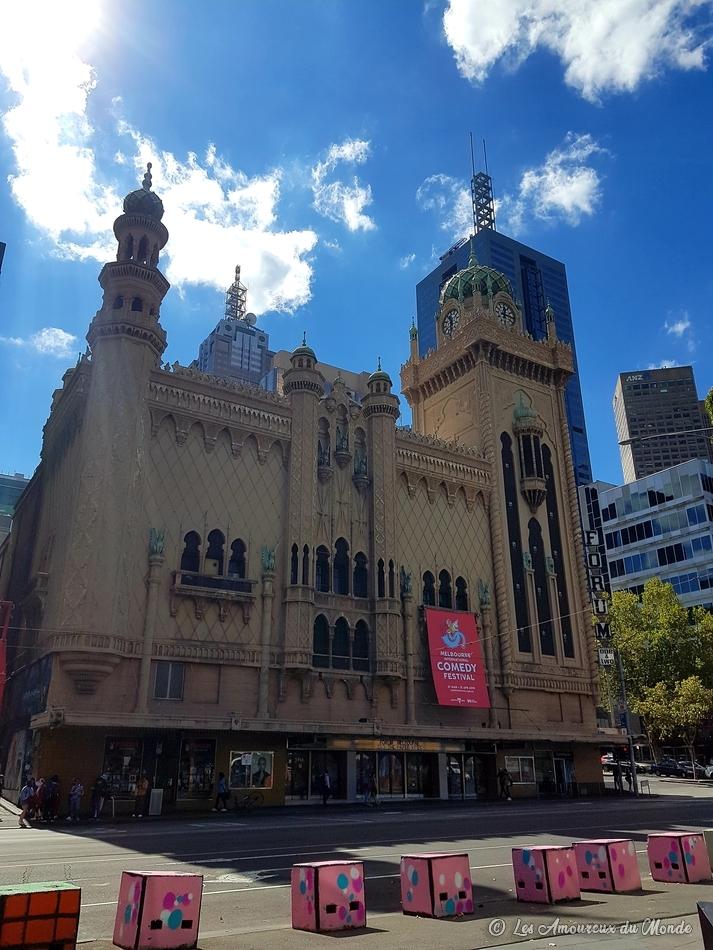 Le Forum theatre à Melbourne