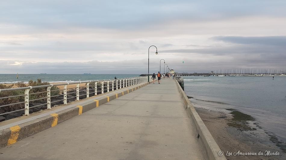 St Kilda Pier - Jetée Saint Kilda Melbourne