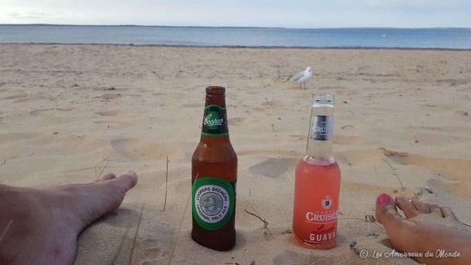 apéro sur la plage de Phillip Island