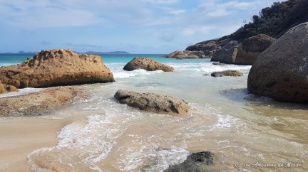 Squeaky beach à Wilsons Promontory - Australie