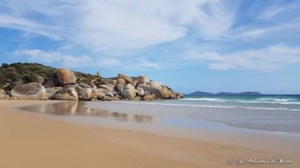 Whisky beach à Wilsons Promontory - Australie