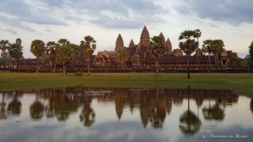 Coucher de soleil sur Angkor Vat - Cambodge