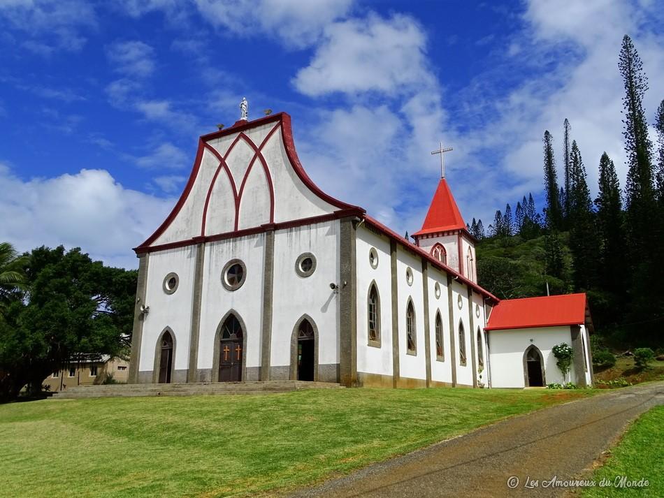 église de Vao - île des Pins