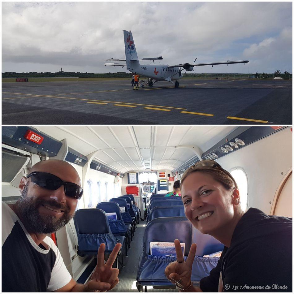 transfert en avion de Lifou à Ouvéa