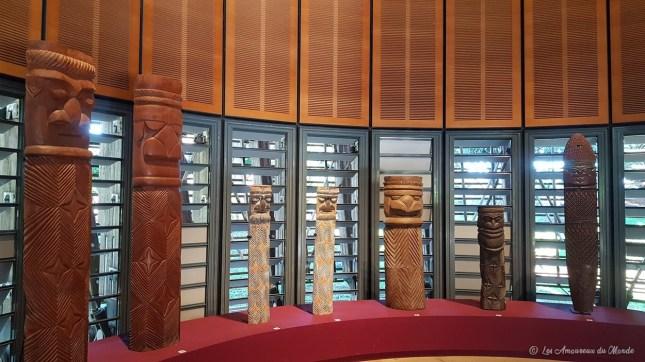 Centre Culturel Tjibaou en Nouvelle-Calédonie