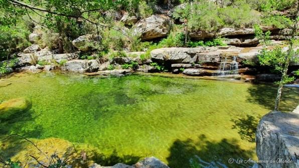 Cascades d'Aitone en Corse