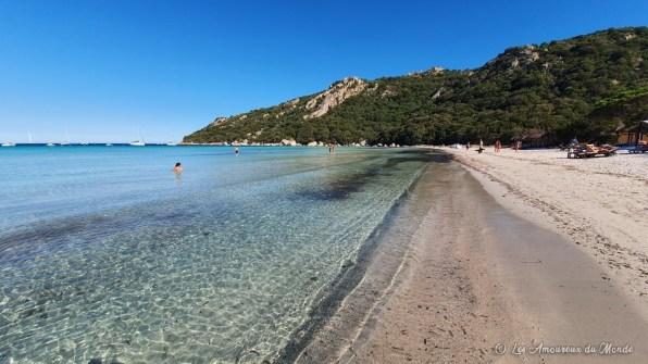 Plage de Santa Giulia - Corse