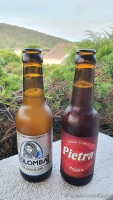 Bières corse Pietra et Colomba