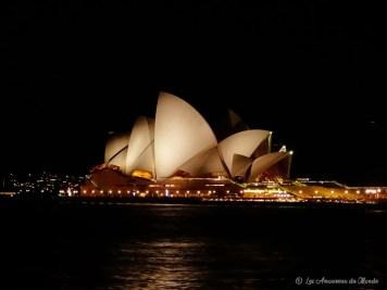 Opéra de Sydney by night