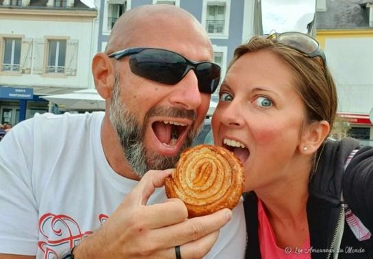 Manger un bon Kouign-amann à Belle île en Mer