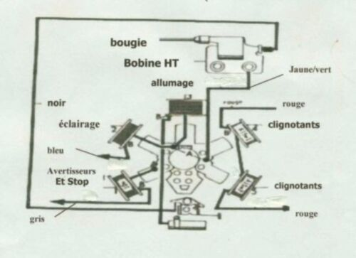 Schema Electrique Peugeot 103 Vogue