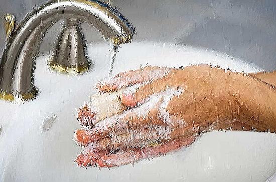 laver ses mains