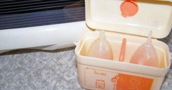stériliser coupe menstruelle avec stérilisateurs tétines biberon