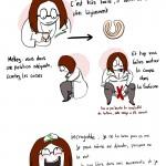 Coupe menstruelle – Bande dessinée humoristique sur la CUP avec Thorgard