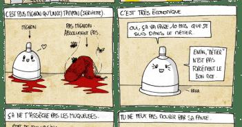 BD Coupe Menstruelle Pour Illustrer La Dcouverte De La