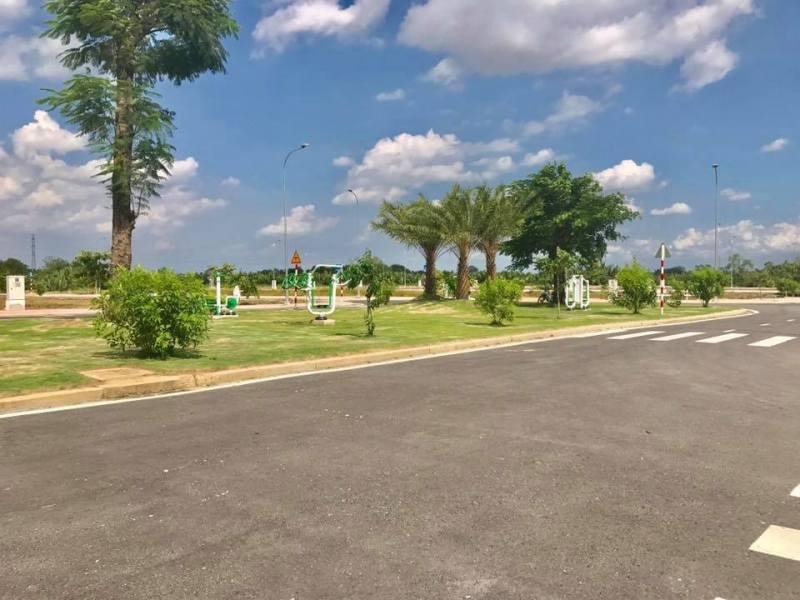 Một góc công viên tại dự án đất nền Centana Điền Phúc Thành Quận 9