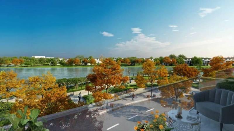 Phối cảnh View Sông tại dự án Rio Vista Quận 9