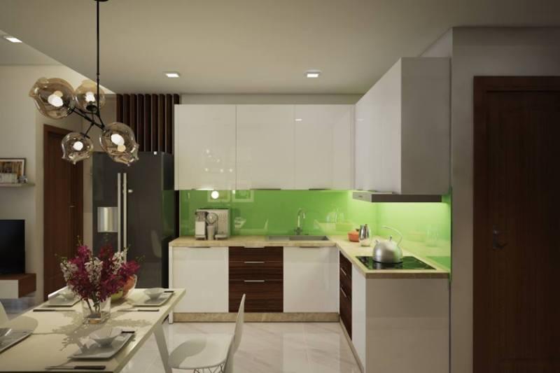 Phối cảnh nội thất - Bếp