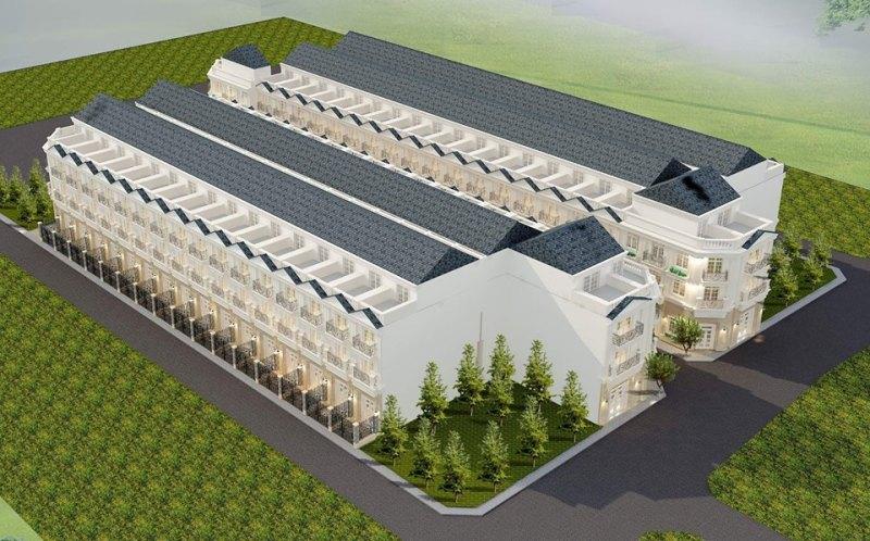 Phối cảnh tổng thể dự án nhà Phố Bùi Tư Toàn, Quận Bình Tân