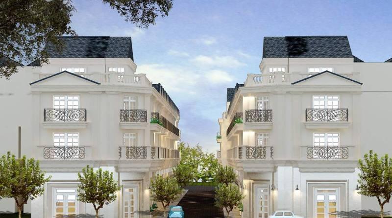 Dự án nhà phố Bùi Tư Toàn, Quận Bình Tân 4,45 tỷ/căn, 4,5 tấm, 250m2 XD