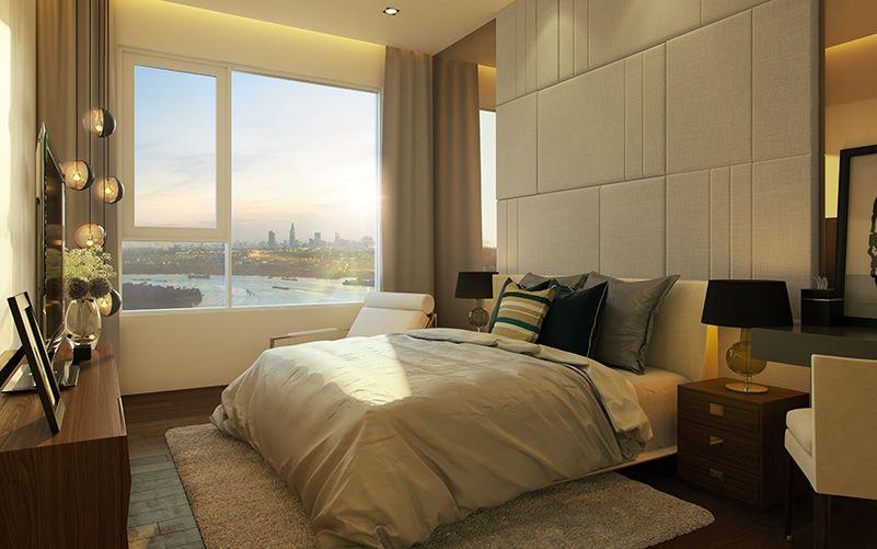 Phối cảnh nội thất phòng ngủ