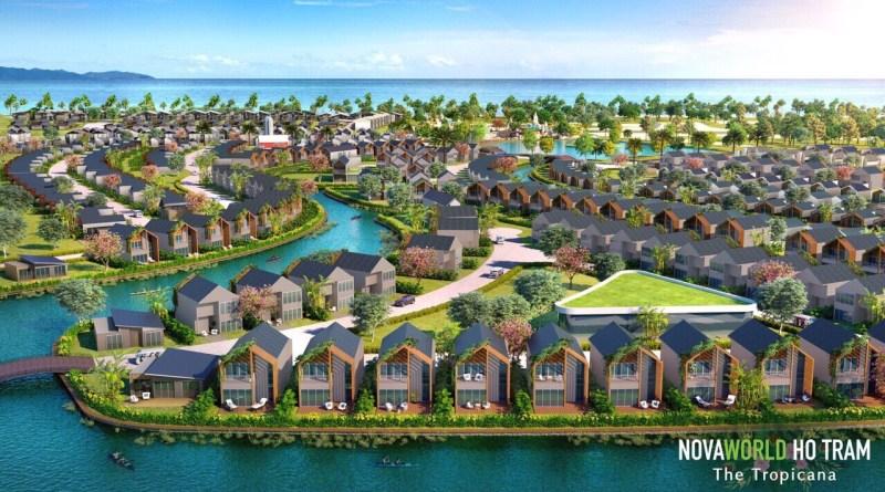 Dự án NovaWorld Hồ Tràm – Biệt thự biển 5,5 tỷ/căn