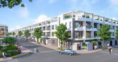Nhà phố Đông Tăng Long An Lộc – (5×20) 1 Trệt 2 Lầu, 1 Tum Giá 5,7 tỷ