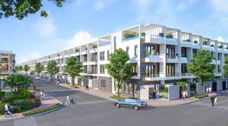 Nhà phố Đông Tăng Long An Lộc – (5×20) 1 Trệt 2 Lầu, 1 Tum Giá 5,5 tỷ