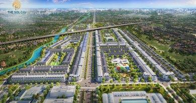The Sol City 105 ha Đất Nền, Nhà Phố Giá 2 Tỷ Mở Bán GĐ1 12/2020