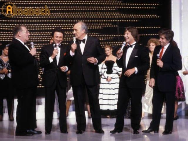En 1986 Canal+ célèbre les 50 ans de la télévision française...Souvenirs