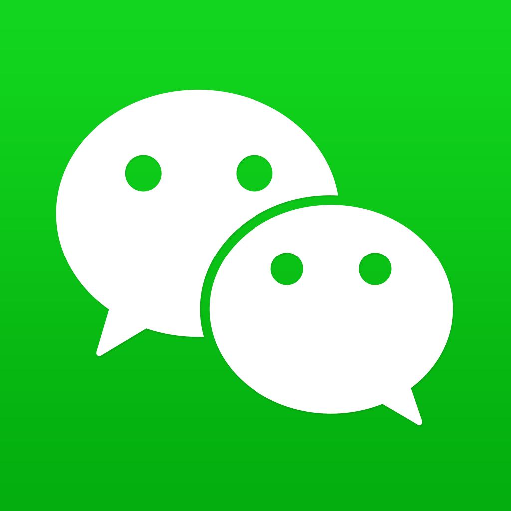Application gratuite WeChat, messagerie instantanée sur iPhone, iPad
