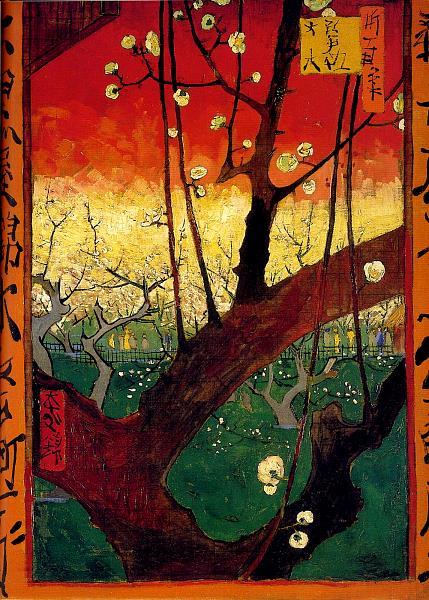 Vincent Van Gogh 1853 1890 Japonaiserie Prunier En