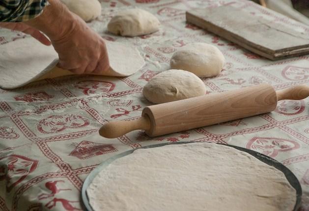 Le travail du boulanger