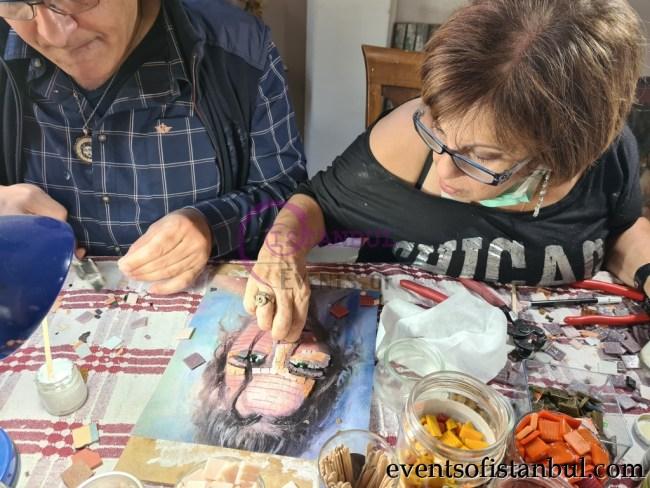 Turkish Mosaic Workshop in Istanbul