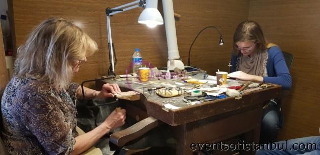 Turkish Jewelry Making Class in Istanbul