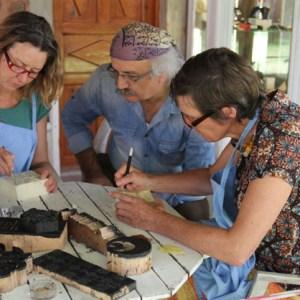 Wood Block Printing and Turkish Textile Designs Workshop