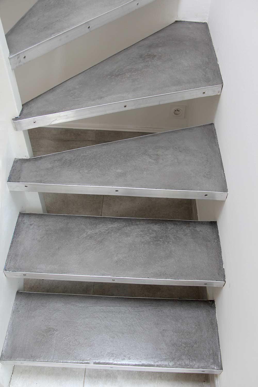 plan de travail cuisine beton
