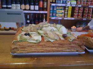 b&r vegetable tart