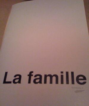 la famille menu