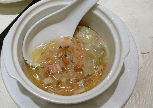 """""""shark's"""" fin soup"""