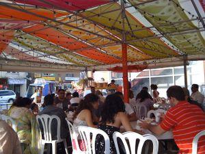 al fresco dining at lahore tikka