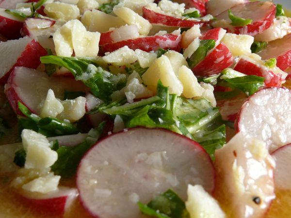 penny's spicy radish salad