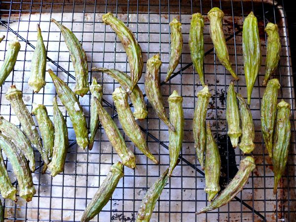 turmeric fried okra