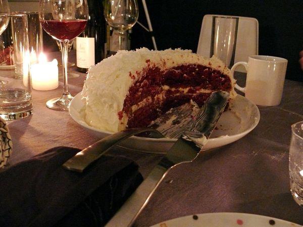 sue's red velvet cake