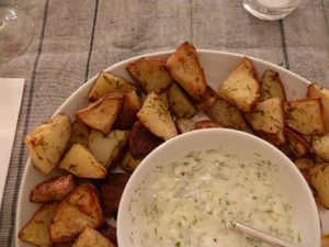 dill and yogurt sauce