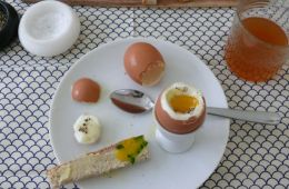 le sauce soft-boiled eggs